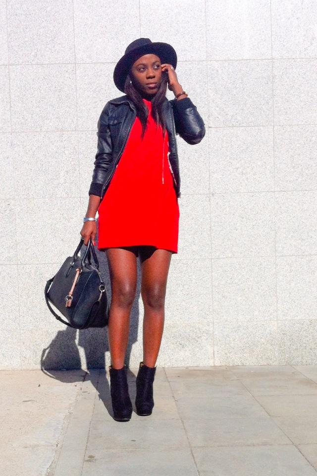 Vestido Rojo Corto Outfit U2013 Vestidos Destacados