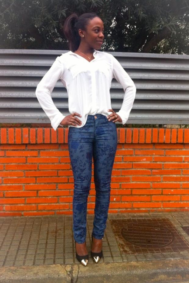 jeans estampado floral4