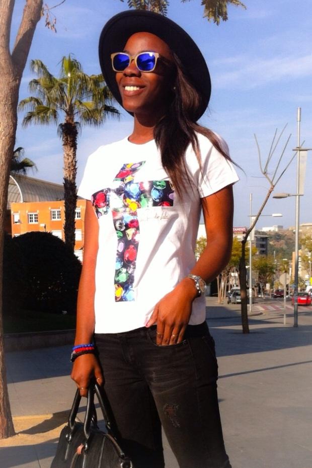Camiseta CRUZ_Luxury cross LAPANTERALOLA7