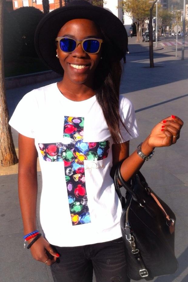 Camiseta CRUZ_Luxury cross LAPANTERALOLA8