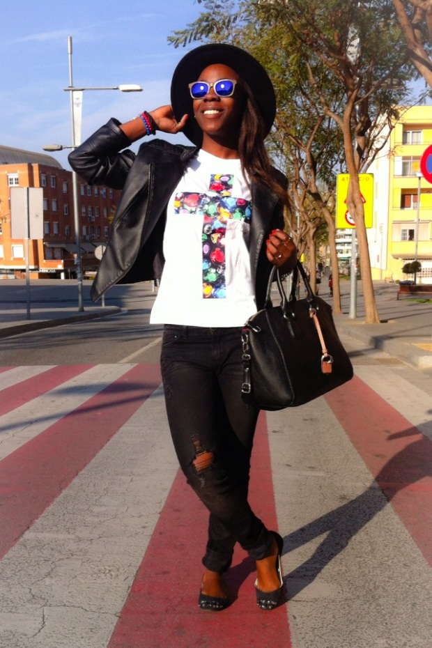 Camiseta CRUZ_Luxury cross LAPANTERALOLA9