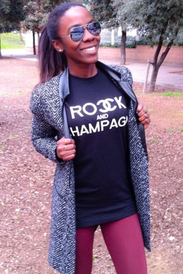 Camiseta Rock and champagne_ETHNICVILLE88