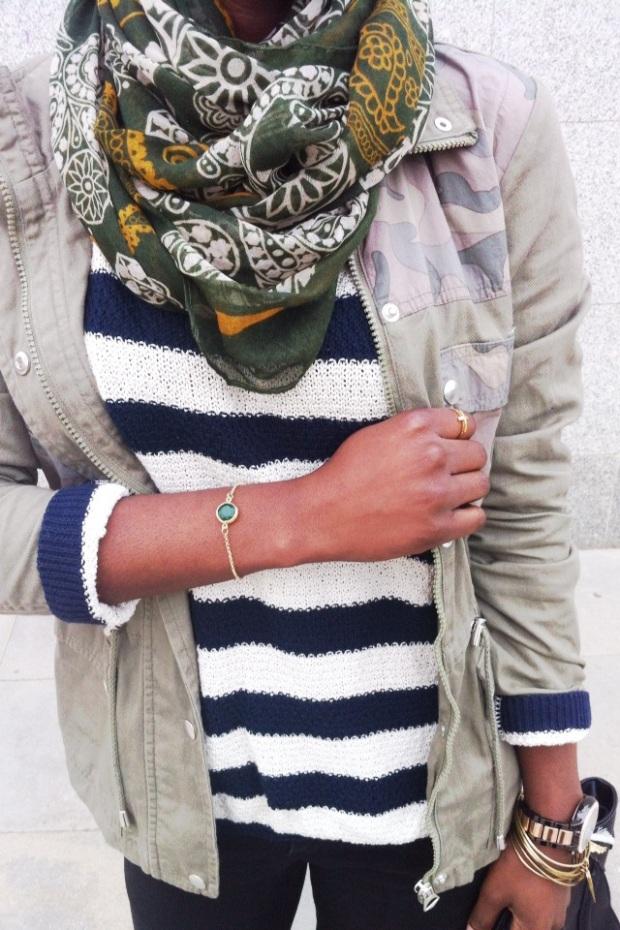pulsera verde esmeralda LUSSTRA_adribohocloset