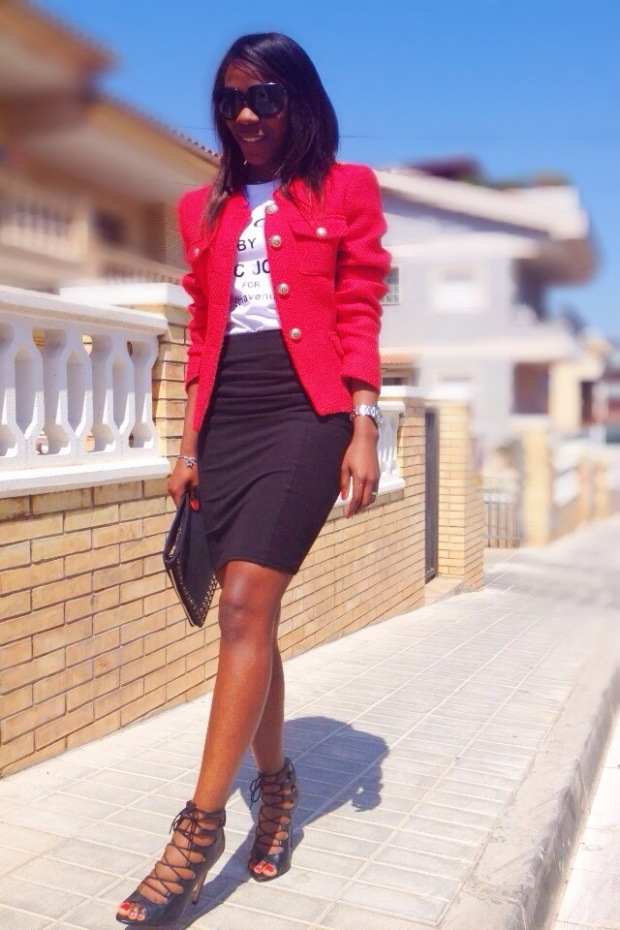 chaqueta roja tweed GIRISSIMA_adribohocloset3