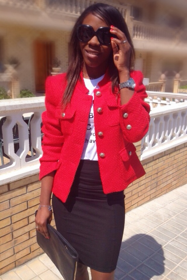 chaqueta roja tweed GIRISSIMA_adribohocloset6