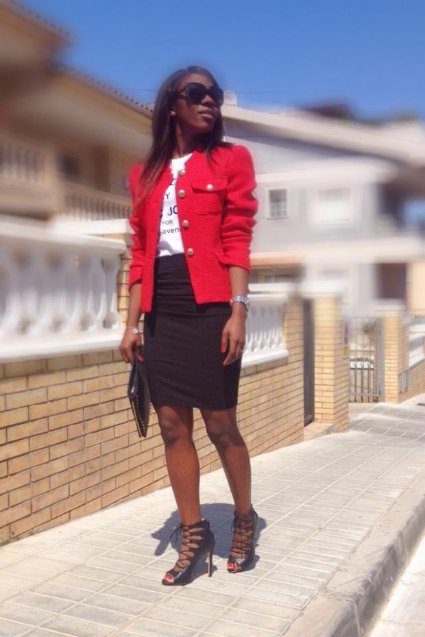 chaqueta roja tweed GIRISSIMA_adribohocloset7
