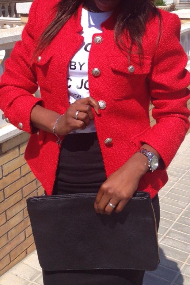 chaqueta roja tweed GIRISSIMA_adribohocloset8