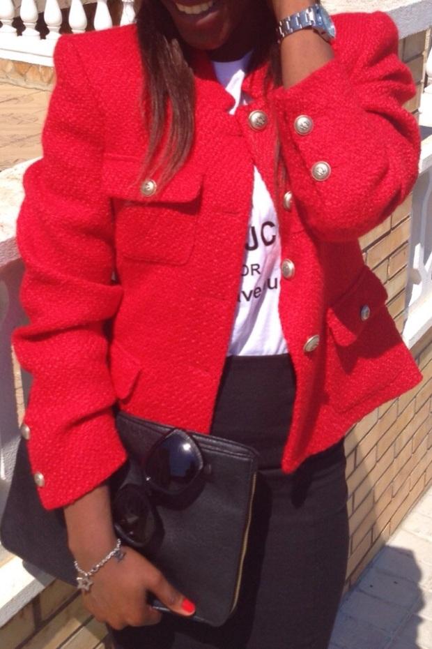 chaqueta roja tweed GIRISSIMA_adribohocloset9