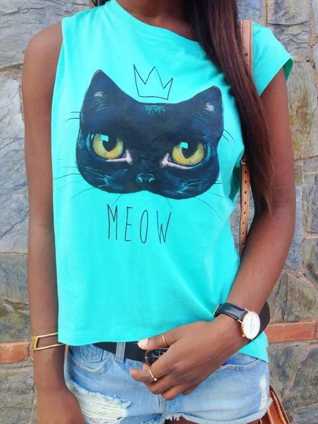 redtee_camisetaverde_cat_paramitahappybcnstyle_adribohocloset7