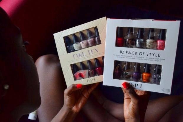 Pack de pintauñas en varios colores.