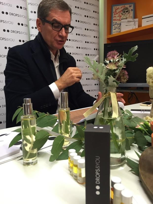 El gran perfumista Toni Cabal