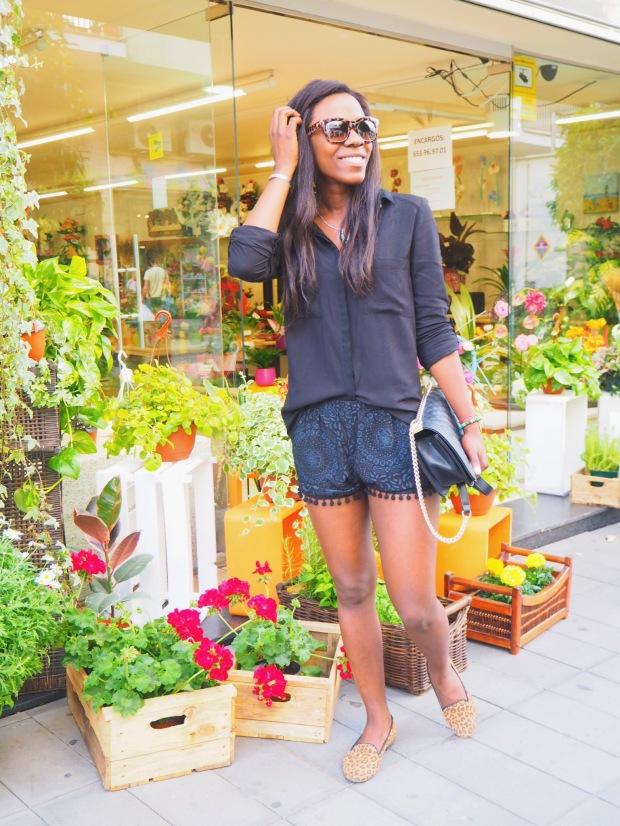 shorts negros madroños1_blogger_Adrianaboho_blackshorts_bohoclosetblog_boho7