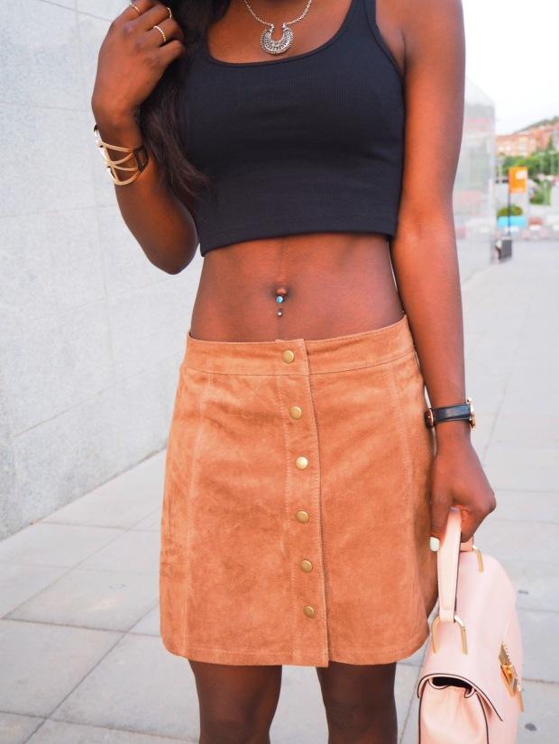 FASHIOLA_Blogger_Adriboho_MangoPlatform_camelplatform_leatherskirt4