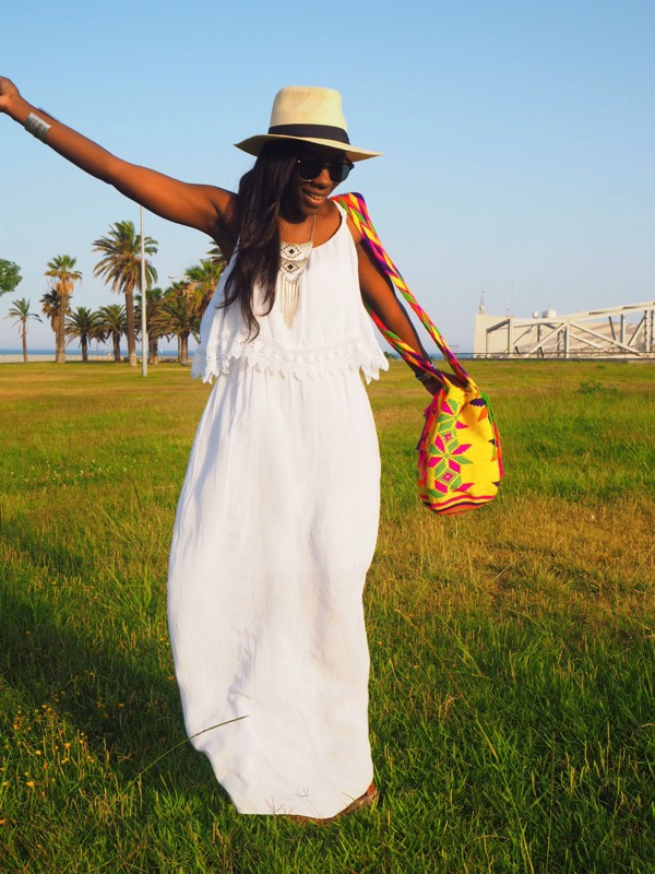 maxi white dress_blogger_maxivestidoblanco_adriboho_bohoclosetblog