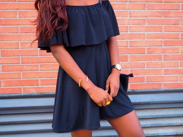 Black off shoulder dress_blogger_adriboho_bohoclosetblog6