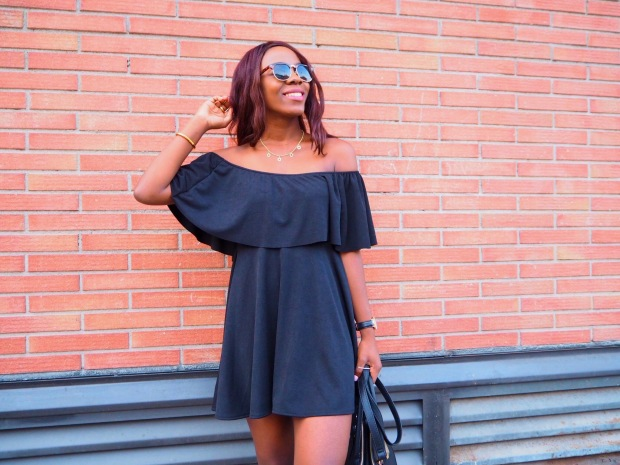 Black off shoulder dress_blogger_adriboho_bohoclosetblog8