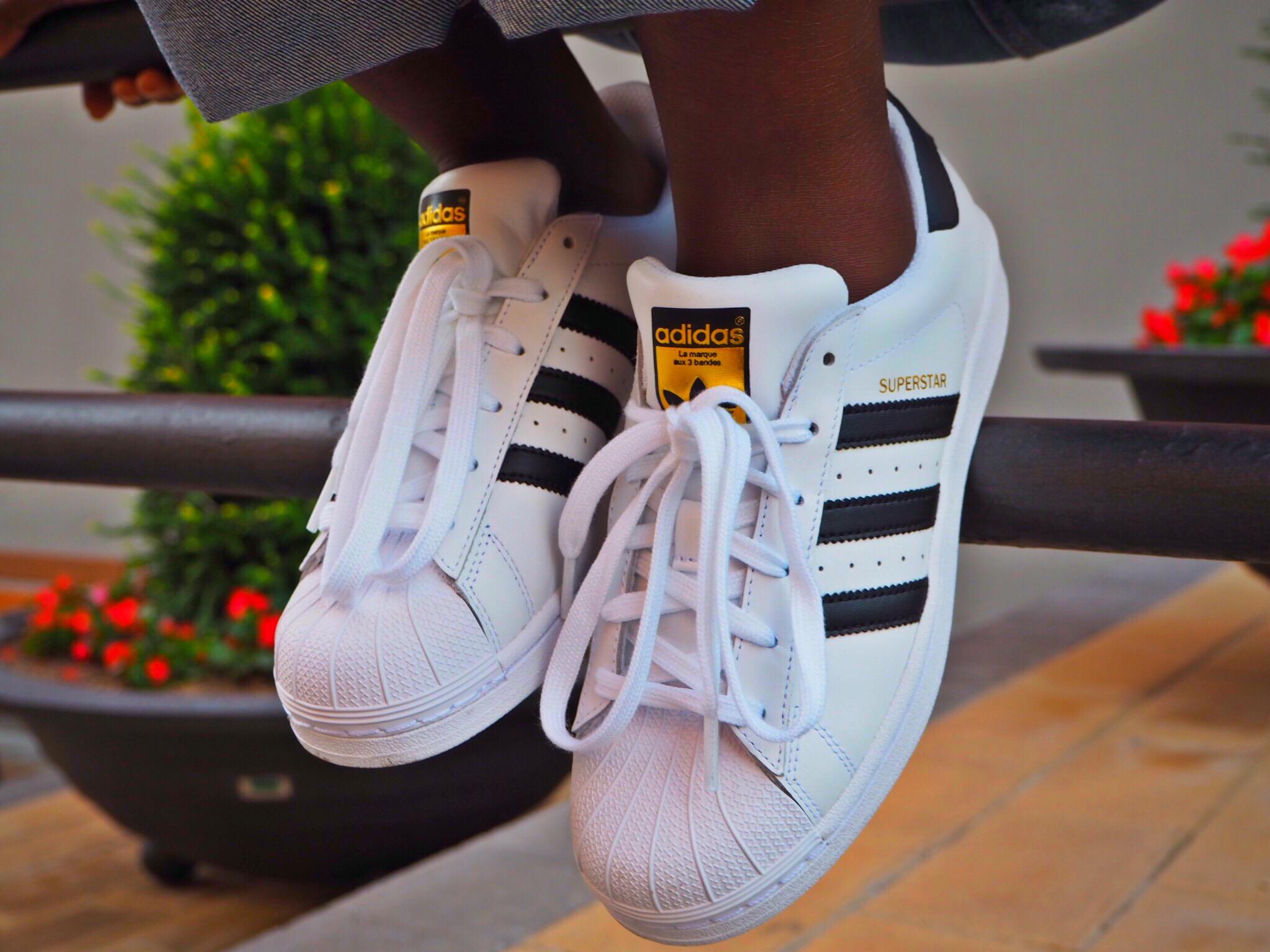 Adidas Superstar II turquesa
